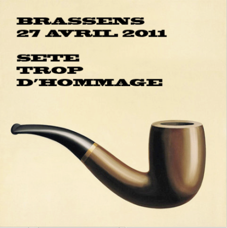 Brassens casse sa pipe !