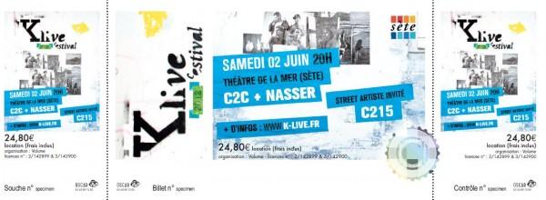 Billets collector pour C2C et Nasser le 2 juin !!!